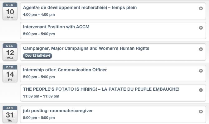COCo Job Postings