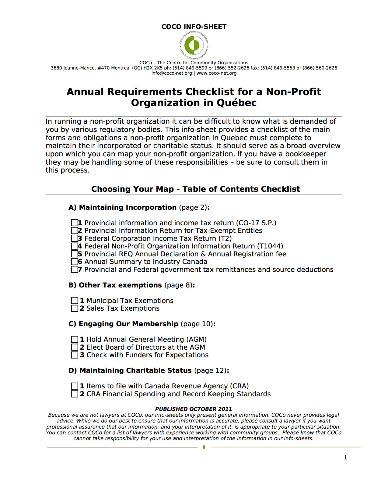 church constitution template - annual requirements checklist for a non profit