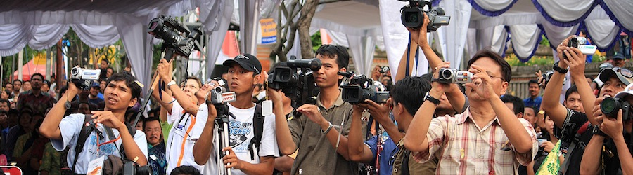 Videographers in Bali