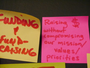 Funding (Post it) - F2