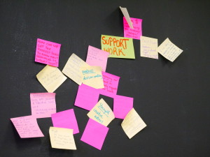 Post its wide -F2