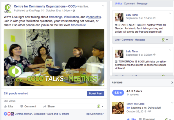 Missed our Facebook Live? Check out the Video on #Meetings and #Facilitation