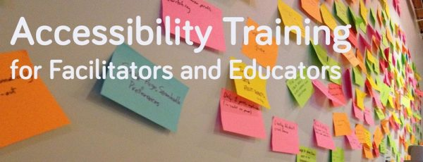Accessibility Training for Facilitators and Educators