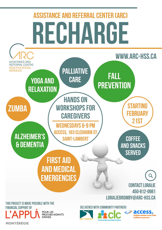 Recharge Caregiver Workshop Series - COCo