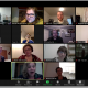 screen capture of a zoom meeting in gallery view