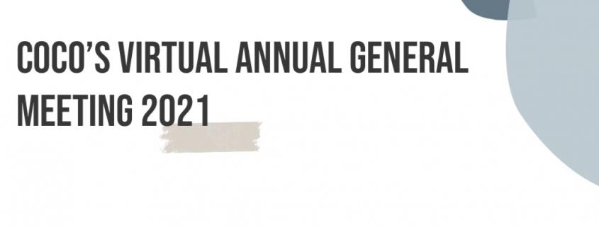 COCo AGM March 25th 2021
